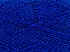 Fiber Content 50% Wool, 50% Acrylic, Brand Ice Yarns, Blue, Yarn Thickness 3 Light  DK, Light, Worsted, fnt2-40809