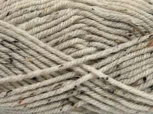 Fiber Content 72% Acrylic, 3% Viscose, 25% Wool, Brand Ice Yarns, Beige, Yarn Thickness 6 SuperBulky  Bulky, Roving, fnt2-40835