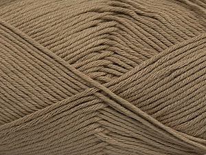 Fiber Content 50% Bamboo, 50% Cotton, Brand Ice Yarns, Camel, Yarn Thickness 2 Fine  Sport, Baby, fnt2-41440