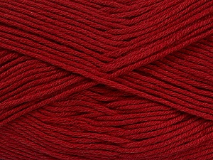 Fiber Content 50% Bamboo, 50% Cotton, Brand Ice Yarns, Burgundy, Yarn Thickness 2 Fine  Sport, Baby, fnt2-41442