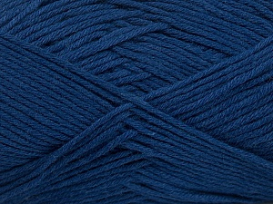 Fiber Content 50% Bamboo, 50% Cotton, Brand Ice Yarns, Blue, Yarn Thickness 2 Fine  Sport, Baby, fnt2-41447