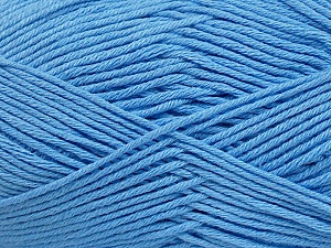 Fiber Content 50% Bamboo, 50% Cotton, Light Blue, Brand Ice Yarns, Yarn Thickness 2 Fine  Sport, Baby, fnt2-41448