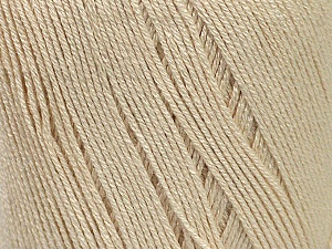 Fiber Content 100% Bamboo, Light Beige, Brand Ice Yarns, Yarn Thickness 2 Fine  Sport, Baby, fnt2-41455