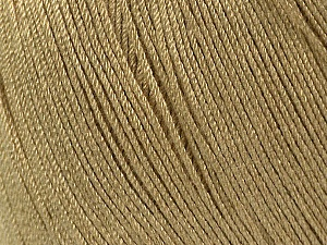 Fiber Content 100% Bamboo, Brand Ice Yarns, Beige, Yarn Thickness 2 Fine  Sport, Baby, fnt2-41456