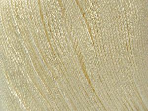 Fiber Content 100% Bamboo, Brand Ice Yarns, Cream, Yarn Thickness 2 Fine  Sport, Baby, fnt2-41457