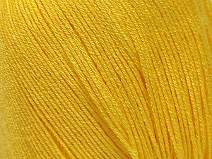 Fiber Content 100% Bamboo, Yellow, Brand Ice Yarns, Yarn Thickness 2 Fine  Sport, Baby, fnt2-41459