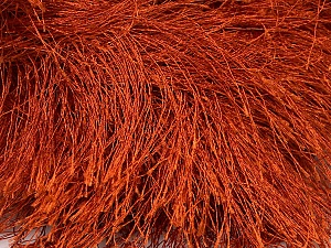 Fiber Content 100% Polyester, Brand Ice Yarns, Copper, Yarn Thickness 6 SuperBulky  Bulky, Roving, fnt2-42066
