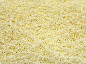 If you want to crochet or knit up washcloths or dishcloths. That name is SCRUBBER TWIST. Washing instructions: Machine wash warm on a gentle cycle. Do not iron. Tumble dry Fiber Content 100% Polyester, Light Yellow, Brand Ice Yarns, Yarn Thickness 4 Medium Worsted, Afghan, Aran, fnt2-42111