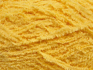 Fiber Content 100% Micro Fiber, Light Yellow, Brand Ice Yarns, Yarn Thickness 5 Bulky  Chunky, Craft, Rug, fnt2-42140