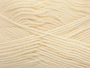 Fiber Content 100% Virgin Wool, Brand Ice Yarns, Cream, Yarn Thickness 3 Light  DK, Light, Worsted, fnt2-42302