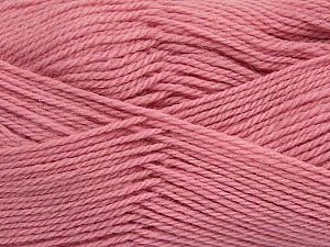 Fiber Content 100% Virgin Wool, Light Pink, Brand Ice Yarns, Yarn Thickness 3 Light  DK, Light, Worsted, fnt2-42315