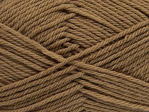 Fiber Content 50% Acrylic, 50% Polyamide, Brand Ice Yarns, Brown, Yarn Thickness 3 Light DK, Light, Worsted, fnt2-42371
