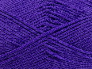 Fiber Content 50% Polyamide, 50% Acrylic, Purple, Brand Ice Yarns, Yarn Thickness 3 Light DK, Light, Worsted, fnt2-42375
