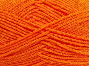 Fiber Content 50% Polyamide, 50% Acrylic, Orange, Brand Ice Yarns, Yarn Thickness 3 Light DK, Light, Worsted, fnt2-42379