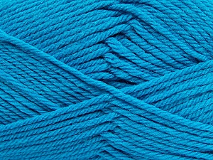 Fiber Content 50% Polyamide, 50% Acrylic, Turquoise, Brand Ice Yarns, Yarn Thickness 3 Light DK, Light, Worsted, fnt2-42380