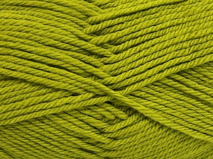 Fiber Content 50% Polyamide, 50% Acrylic, Brand Ice Yarns, Green, Yarn Thickness 3 Light DK, Light, Worsted, fnt2-42382