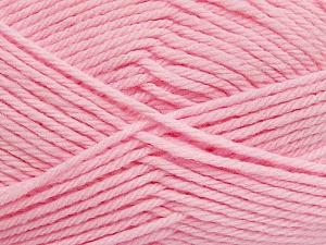 Fiber Content 50% Polyamide, 50% Acrylic, Light Pink, Brand Ice Yarns, Yarn Thickness 3 Light DK, Light, Worsted, fnt2-42390