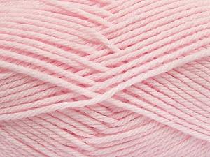 Fiber Content 50% Polyamide, 50% Acrylic, Brand Ice Yarns, Baby Pink, Yarn Thickness 3 Light DK, Light, Worsted, fnt2-42391