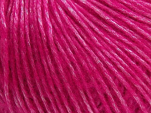 Fiber Content 50% Acrylic, 50% Polyamide, Brand Ice Yarns, Fuchsia, Yarn Thickness 4 Medium  Worsted, Afghan, Aran, fnt2-42748