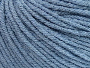 SUPERWASH WOOL BULKY is a bulky weight 100% superwash wool yarn. Perfect stitch definition, and a soft-but-sturdy finished fabric. Projects knit and crocheted in SUPERWASH WOOL BULKY are machine washable! Lay flat to dry. Fiber Content 100% Superwash Wool, Light Lilac, Brand Ice Yarns, Yarn Thickness 5 Bulky  Chunky, Craft, Rug, fnt2-42842