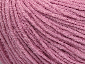 Fiber Content 50% Cotton, 50% Acrylic, Light Orchid, Brand Ice Yarns, Yarn Thickness 3 Light  DK, Light, Worsted, fnt2-43072