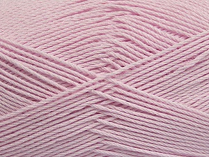 Fiber Content 50% Viscose, 50% Bamboo, Brand Ice Yarns, Baby Pink, Yarn Thickness 2 Fine  Sport, Baby, fnt2-43136