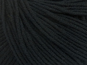 SUPERWASH MERINO EXTRAFINE is a DK weight, 100% extra fine Italian-style superwash merino wool making it extremely soft, as well as durable.  High twist and smooth texture gives unbelievable stitch definition making this a good choice for any project that you want to show off your stitch work. Projects knit and crocheted in SUPERWASH MERINO EXTRAFINE are machine washable! Lay flat to dry. Do not bleach. Do not iron Fiber Content 100% Superwash Extrafine Merino Wool, Brand Ice Yarns, Black, Yarn Thickness 3 Light  DK, Light, Worsted, fnt2-43139