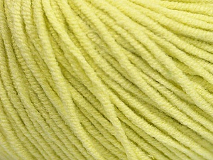 Fiber Content 50% Acrylic, 50% Cotton, Lemon Yellow, Brand Ice Yarns, Yarn Thickness 3 Light  DK, Light, Worsted, fnt2-43836