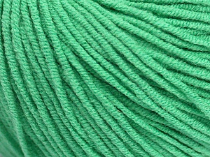 Fiber Content 50% Cotton, 50% Acrylic, Brand Ice Yarns, Emerald Green, Yarn Thickness 3 Light  DK, Light, Worsted, fnt2-43837