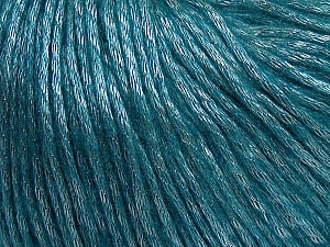 Fiber Content 50% Acrylic, 50% Polyamide, Teal, Brand ICE, Yarn Thickness 4 Medium  Worsted, Afghan, Aran, fnt2-44719