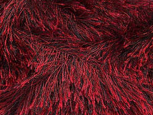 Fiber Content 100% Polyester, Red, Brand Ice Yarns, Black, Yarn Thickness 5 Bulky  Chunky, Craft, Rug, fnt2-44924