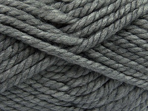 Fiber Content 55% Acrylic, 45% Wool, Brand Ice Yarns, Grey, Yarn Thickness 6 SuperBulky  Bulky, Roving, fnt2-45122