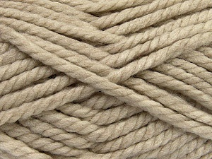 Fiber Content 55% Acrylic, 45% Wool, Brand Ice Yarns, Beige, Yarn Thickness 6 SuperBulky  Bulky, Roving, fnt2-45123