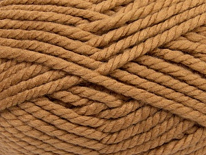 Fiber Content 55% Acrylic, 45% Wool, Brand Ice Yarns, Cafe Latte, Yarn Thickness 6 SuperBulky  Bulky, Roving, fnt2-45125