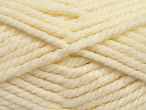 Fiber Content 55% Acrylic, 45% Wool, Brand Ice Yarns, Cream, Yarn Thickness 6 SuperBulky  Bulky, Roving, fnt2-45126