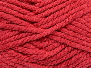 Fiber Content 55% Acrylic, 45% Wool, Salmon, Brand Ice Yarns, Yarn Thickness 6 SuperBulky  Bulky, Roving, fnt2-45132