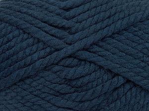 Fiber Content 55% Acrylic, 45% Wool, Navy, Brand Ice Yarns, Yarn Thickness 6 SuperBulky Bulky, Roving, fnt2-45134