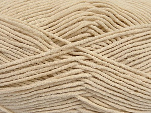 Fiber Content 55% Cotton, 45% Acrylic, Light Beige, Brand Ice Yarns, Yarn Thickness 4 Medium  Worsted, Afghan, Aran, fnt2-45142