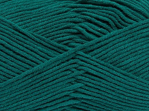 Fiber Content 55% Cotton, 45% Acrylic, Teal, Brand Ice Yarns, Yarn Thickness 4 Medium  Worsted, Afghan, Aran, fnt2-45144