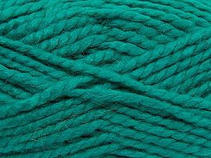 SuperBulky  Fiber Content 60% Acrylic, 30% Alpaca, 10% Wool, Brand Ice Yarns, Emerald Green, Yarn Thickness 6 SuperBulky  Bulky, Roving, fnt2-45163