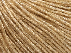 Fiber Content 50% Acrylic, 50% Polyamide, Brand Ice Yarns, Cafe Latte, Yarn Thickness 4 Medium  Worsted, Afghan, Aran, fnt2-45551