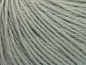 Fiber Content 40% Merino Wool, 40% Acrylic, 20% Polyamide, Light Grey, Brand Ice Yarns, Yarn Thickness 3 Light  DK, Light, Worsted, fnt2-45805