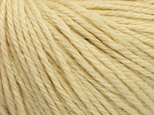 Fiber Content 40% Acrylic, 40% Merino Wool, 20% Polyamide, Brand Ice Yarns, Cream, Yarn Thickness 3 Light  DK, Light, Worsted, fnt2-45808