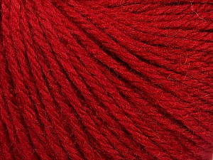Fiber Content 40% Acrylic, 40% Merino Wool, 20% Polyamide, Brand Ice Yarns, Dark Red, Yarn Thickness 3 Light  DK, Light, Worsted, fnt2-45809