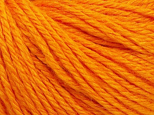 Fiber Content 40% Merino Wool, 40% Acrylic, 20% Polyamide, Light Orange, Brand Ice Yarns, Yarn Thickness 3 Light  DK, Light, Worsted, fnt2-45813