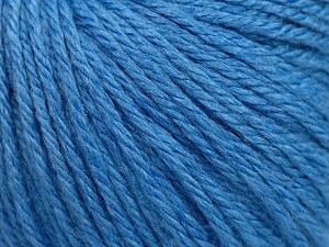 Fiber Content 40% Merino Wool, 40% Acrylic, 20% Polyamide, Light Blue, Brand Ice Yarns, Yarn Thickness 3 Light  DK, Light, Worsted, fnt2-45823