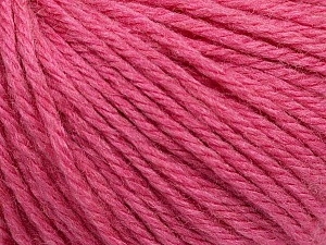 Fiber Content 40% Merino Wool, 40% Acrylic, 20% Polyamide, Rose Pink, Brand Ice Yarns, Yarn Thickness 3 Light  DK, Light, Worsted, fnt2-45826