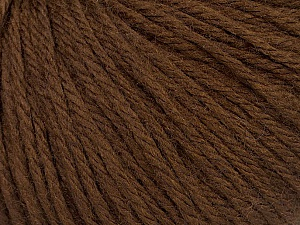Fiber Content 40% Acrylic, 40% Merino Wool, 20% Polyamide, Brand Ice Yarns, Brown, Yarn Thickness 3 Light  DK, Light, Worsted, fnt2-46037