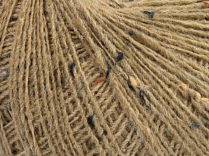 Tweed Please note that this is a tweed yarn. Fiber Content 70% Acrylic, 30% Wool, Brand Ice Yarns, Beige, Yarn Thickness 2 Fine  Sport, Baby, fnt2-46357