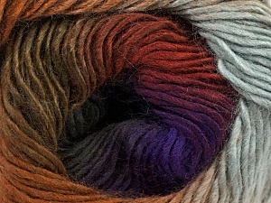 Fiber Content 50% Acrylic, 50% Wool, Purple Shades, Khaki, Brand Ice Yarns, Grey, Brown Shades, Yarn Thickness 2 Fine  Sport, Baby, fnt2-46630